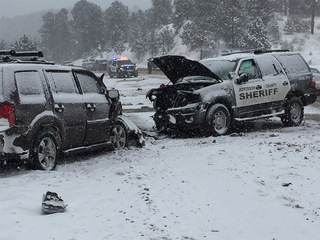 JeffCo deputy involved in crash on US 285
