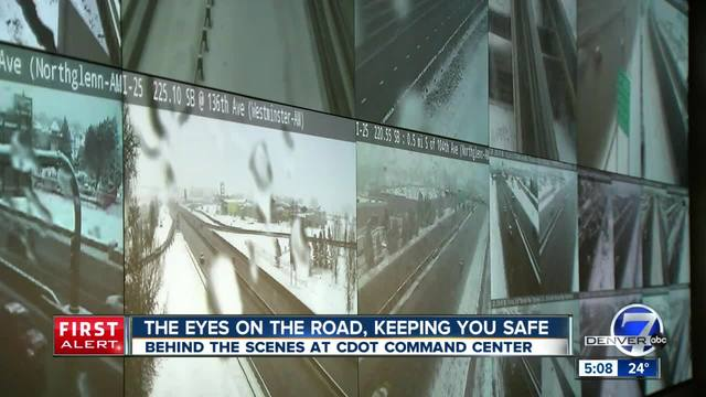 Behind-the-scenes of CDOT-s command center- program responsible for road alerts