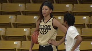 Buffs forward shares her basketball journey
