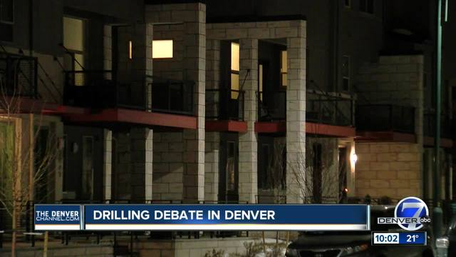 Drilling debate in Denver