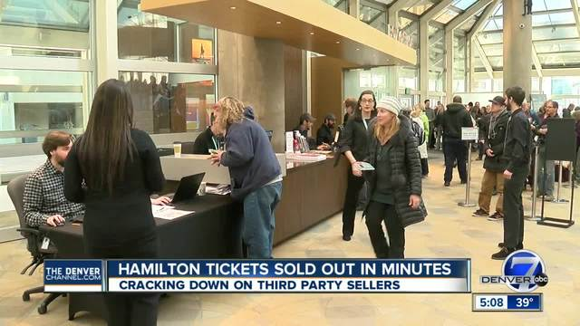 Tickets to see -Hamilton- in Denver sell out after massive demand