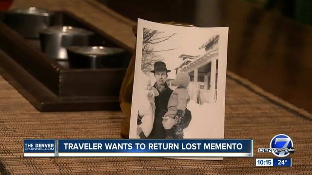 Recognize this photo- Airport bartender tries to get lost memento home