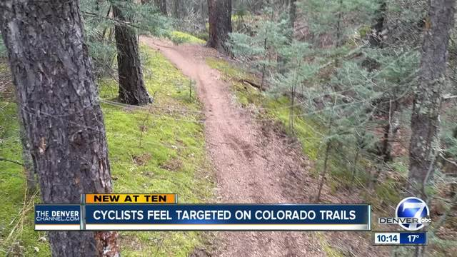 Booby-trapped bike trail near Colorado Springs concerns cyclists