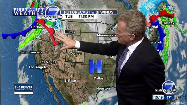 Warmer days are on the way for Denver-