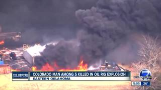 Colo. man among 5 dead gas workers in Oklahoma