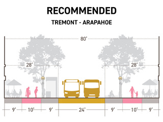 Denver, RTD recommend 16th St. redesign plan