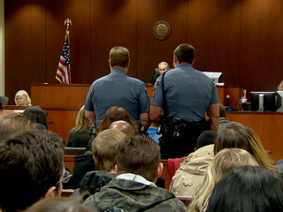 Accused Adams County shooter appears in court