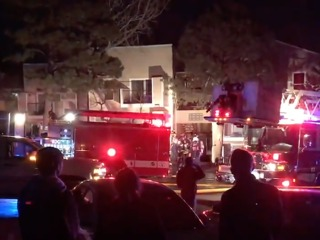 More than two dozen displaced by apartment fire