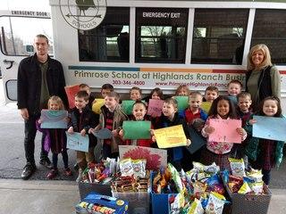 Kids take treats to Douglas Co. Sheriff's Office