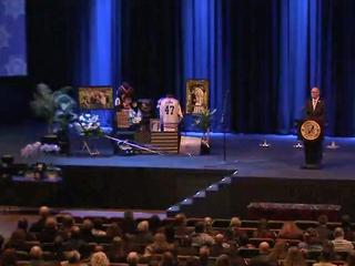 Funeral held for deputy Heath Gumm