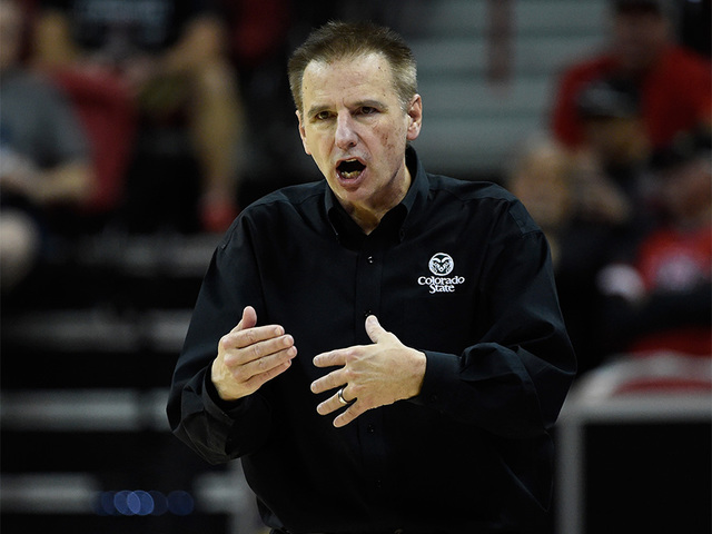 Colorado State basketball coach Larry Eustachy placed on administrative leave