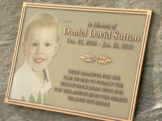 Mother fights to save son's memorial