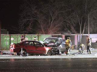 Greeley Police: 1 killed, 4 injured in crash