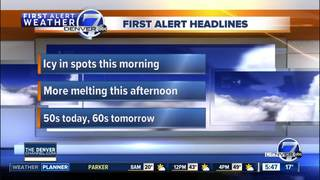 Mild weather returns to Denver