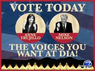 Vote for Trujillo, Nelson to voice DIA train