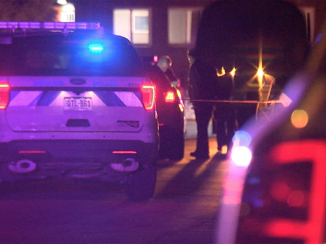 DPD: Officer shoots man as he shoots 86-year-old father