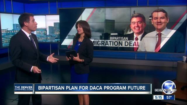 Gardner- Bennet propose new DACA deal that includes wall funding as…