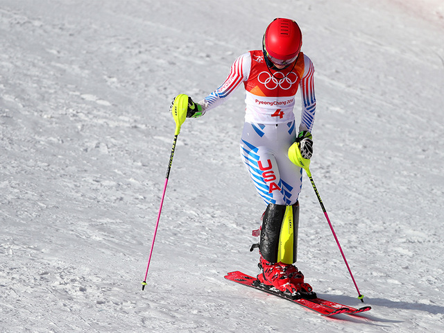 Mikaela Shiffrin misses out on medal at women's slalom final