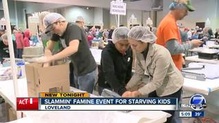 'Slammin' Famine' underway in Loveland