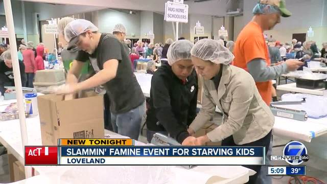 Slammin- Famine event for starving kids in Loveland