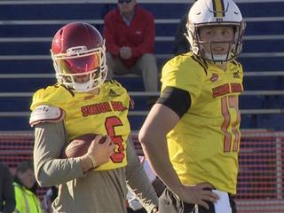 Who you got? Broncos QB choices fuel debate
