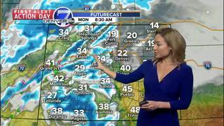 Windy, warm Sunday in Denver, then snow and cold