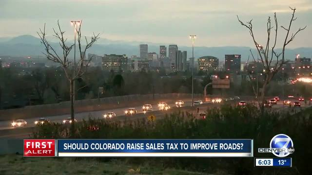360- Plans to push a sales tax hike are moving forward in Colorado