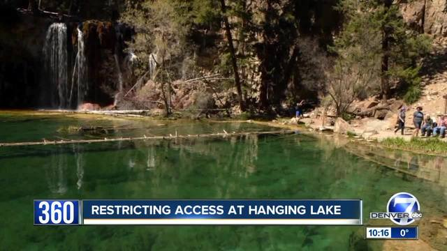 Hanging Lake will become a lot less crowded under nearly-finalized…