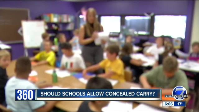 360- Should concealed weapons be allowed on school grounds-