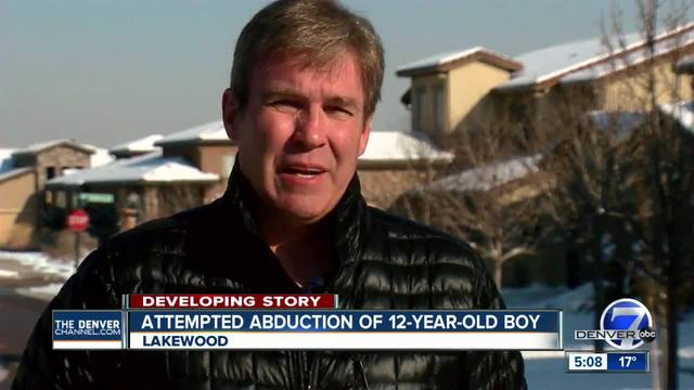 School- father say man tried to abduct Lakewood boy getting off school bus