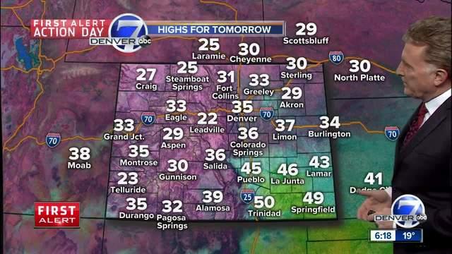 First Alert Action Day- Snow for Denver