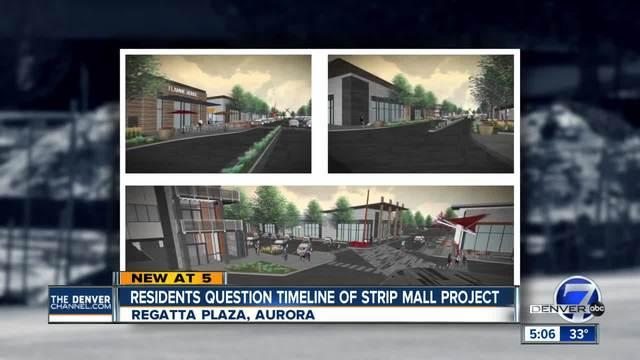 Aurora residents near old Regatta Plaza construction site want more…