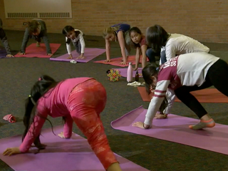 Replacing detention with yoga