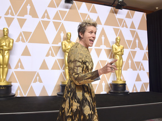 Man accused of stealing McDormand's Oscar