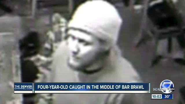 Bar fight starts with 4-year old in arms, suspect sought