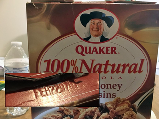 Local family buys, eats decades old cereal