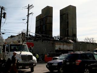 8 buildings still uninhabitable after large fire