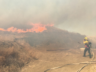 Carson Midway Fire now 100 percent contained
