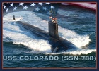 New submarine, USS Colorado, joins the fleet