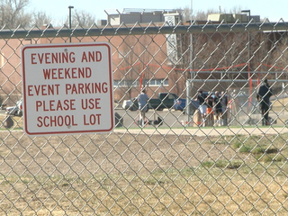 Neighbors fed up with high school parking fiasco