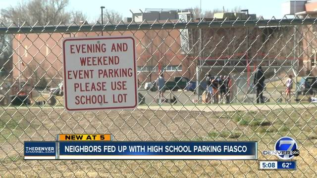 Neighbors fed up with Lakewood High School parking fiasco