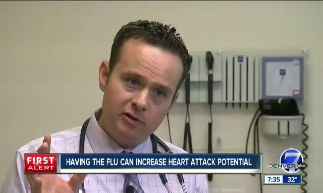 Flu and Heart Attacks