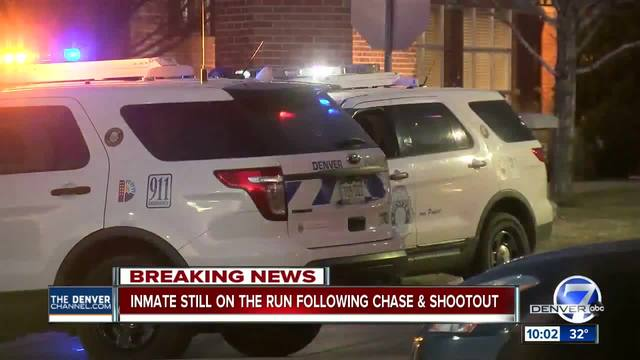 Shots fired- 2 suspects wounded after police pursuit in NE Denver- no…