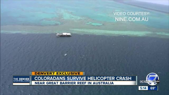 2 Coloradans injured in helicopter crash on Great Barrier Reef- 2 other…