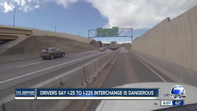 Drivers say I-225 bottleneck near Denver Tech Center still a hazard