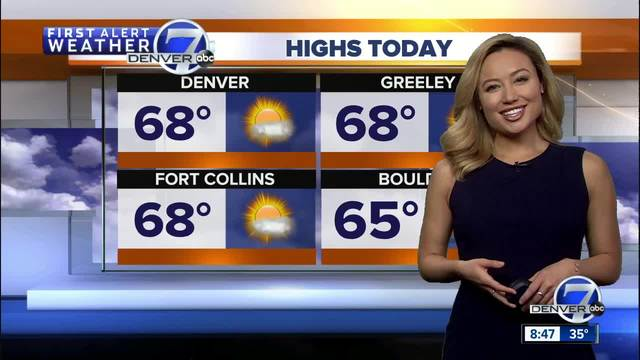 Nice weekend in store for Denver and across the Front Range- Beautiful…