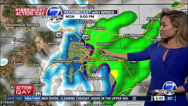 Weather Forecast: A very spring like weather pattern