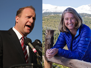 New Democrat endorsements, ad in governor's race