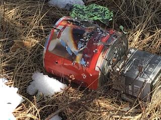 Spent shells, targets pile up at shooting range