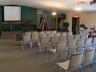 Community helps clean up vandalized church